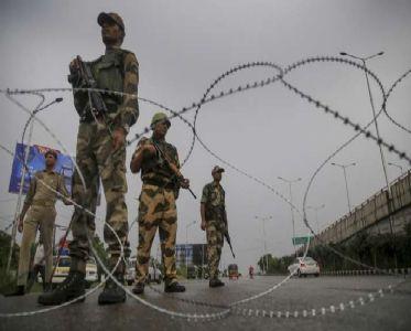 जम्मू -कश्मीर में धारा ३७० हटने का एक साल : श्रीनगर में २ दिन का कर्फु