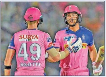 पहले ही मैच में राजस्थान राॅयल्स काे झटका