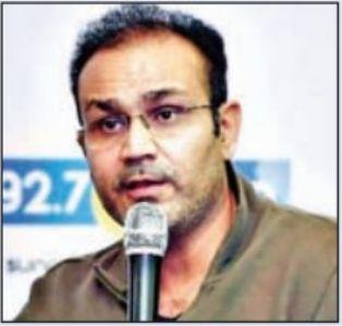 धाेनी के बाद राेहित शर्मा बेहतरीन कप्तान : सहवाग