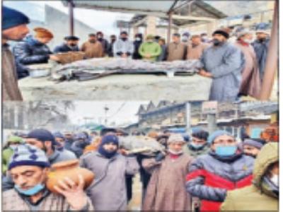 कश्मीरी पंडित के अंतिम संस्कार में मुस्लिमाें ने मदद कर पेश की मिसाल