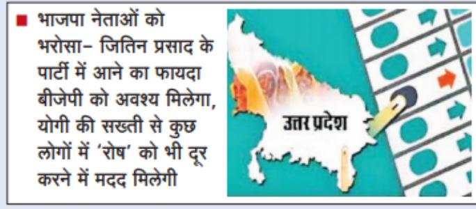 यूपी चुनाव के मद्देनजर भाजपा की बिसात बिछनी शुरू