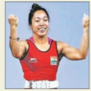 मीराबाई चानू काे मिला ओलम्पिक का टिकट