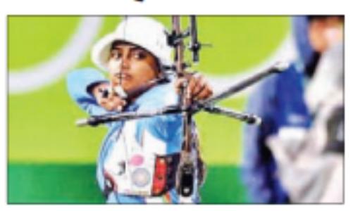 टाेक्याे ओलंपिक के पहले दिन रैंकिंग राउंड में नाैवें स्थान पर रहीं दीपिका