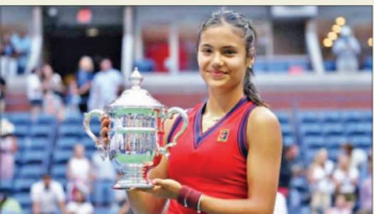 ब्रिटेन की राडुकानू ने जीता यूएस ओपन खिताब