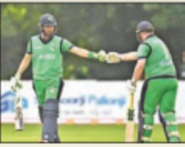 आयरलैंड ने जिम्बाब्वे काे तीसरे वनडे में सात विकेट से हराया, सीरीज 1-1 से रही बराबर