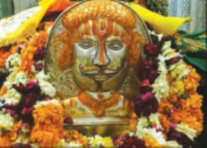 मेला नहीं भरने से बाबा रामदेव मंदिर में राैनक रही फीकी